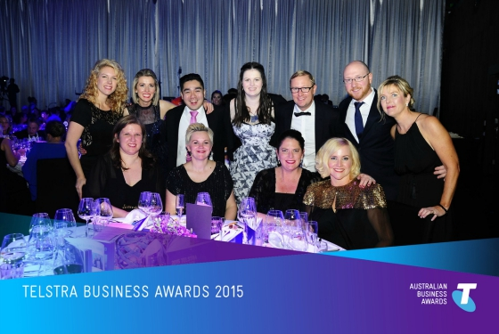 Styling You Telstra Business Awards 2015
