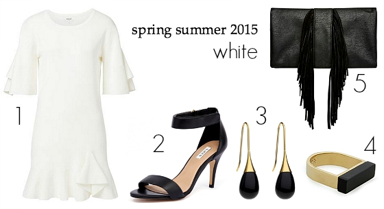 spring summer 2015 fashion trends - white