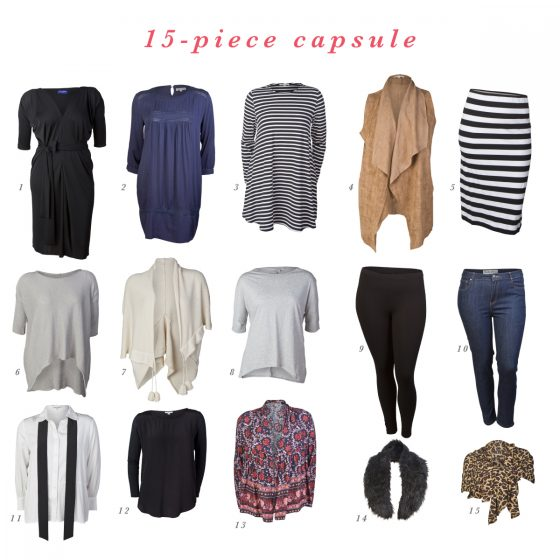 15-piece autumn-winter capsule wardrobe | Styling You autumn-winter 2015 shop