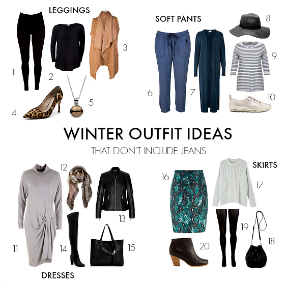 4 Winter Outfit Ideas That Don T Include Jeans
