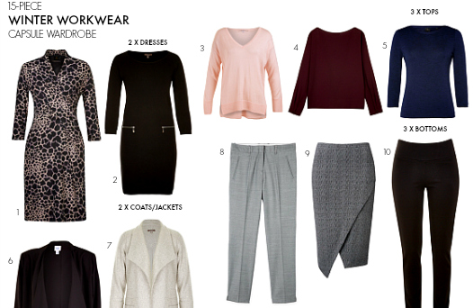 How to create a winter workwear capsule wardrobe