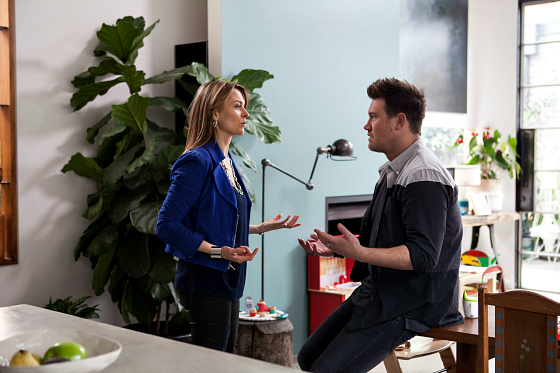 S6 Ep4 Billie and Mick reunited | How to dress like Offspring's Nina Proudman | Photo: Network Ten