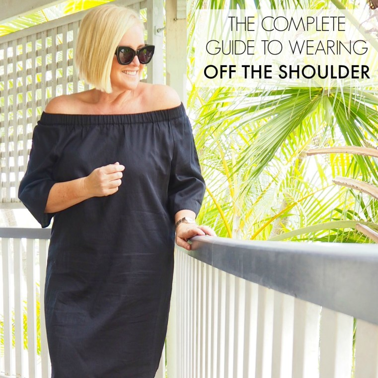 The complete guide to wearing off the shoulder