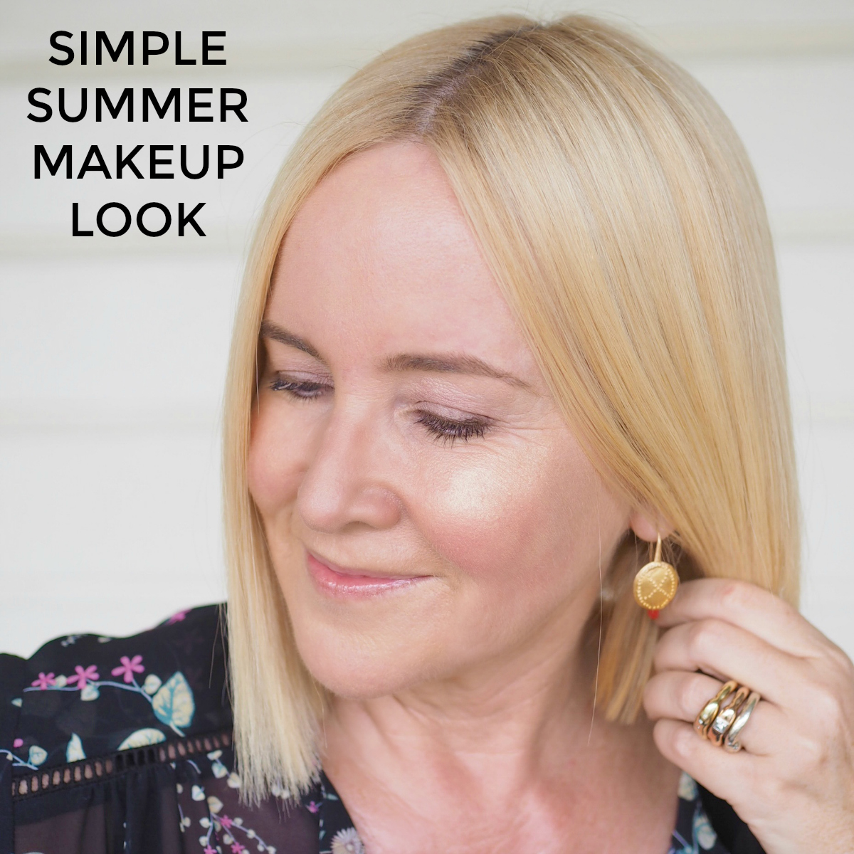 How to create a simple summer makeup look
