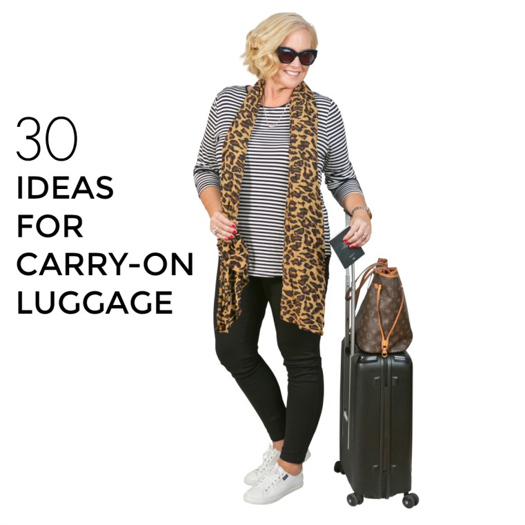 30 ideas for carry-on luggage   Styling You