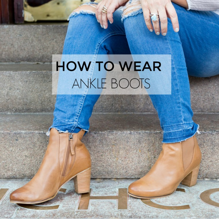 1dbc8ab64df0 How to wear ankle boots seven different ways - autumn-winter 2017