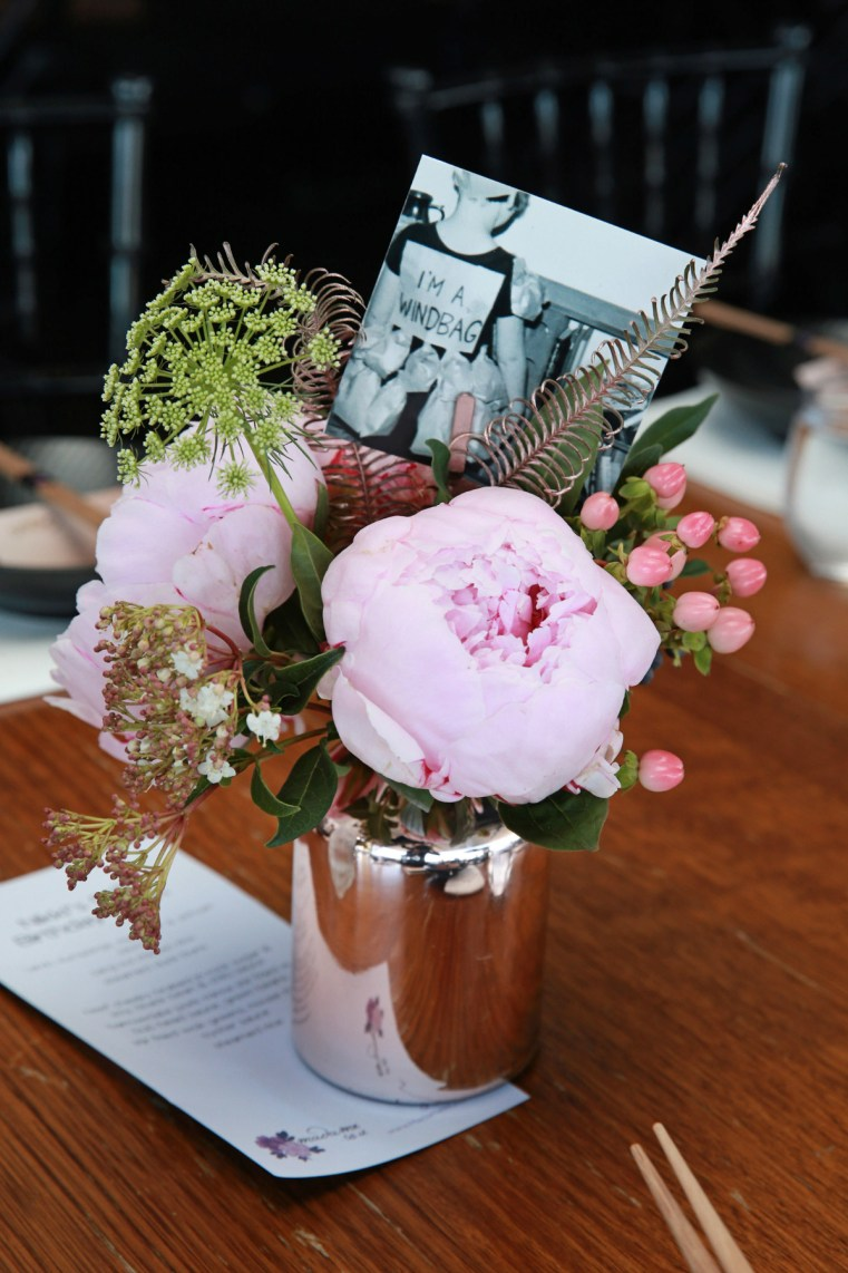 Styling You Nikki Parkinson 50th birthday   Flowers by Francesca's Flowers
