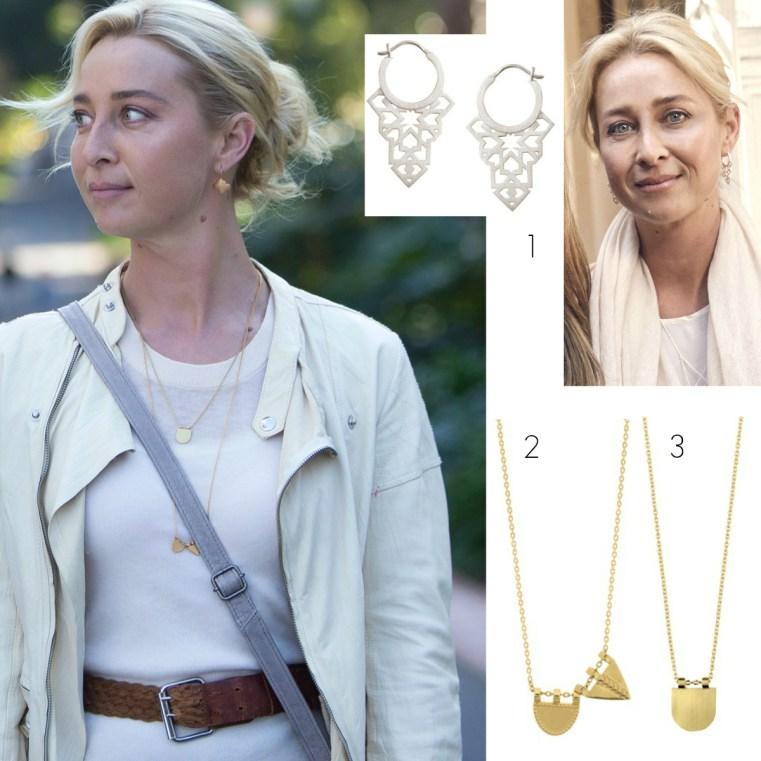 Win Linda Tajiha Jewellery as seen on Nina Proudman, Offspring Season 7