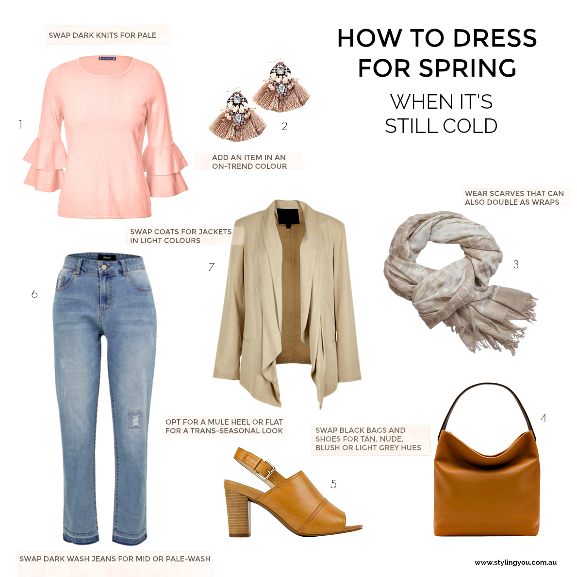 15 tips for dressing in spring when it's still cold | Styling You