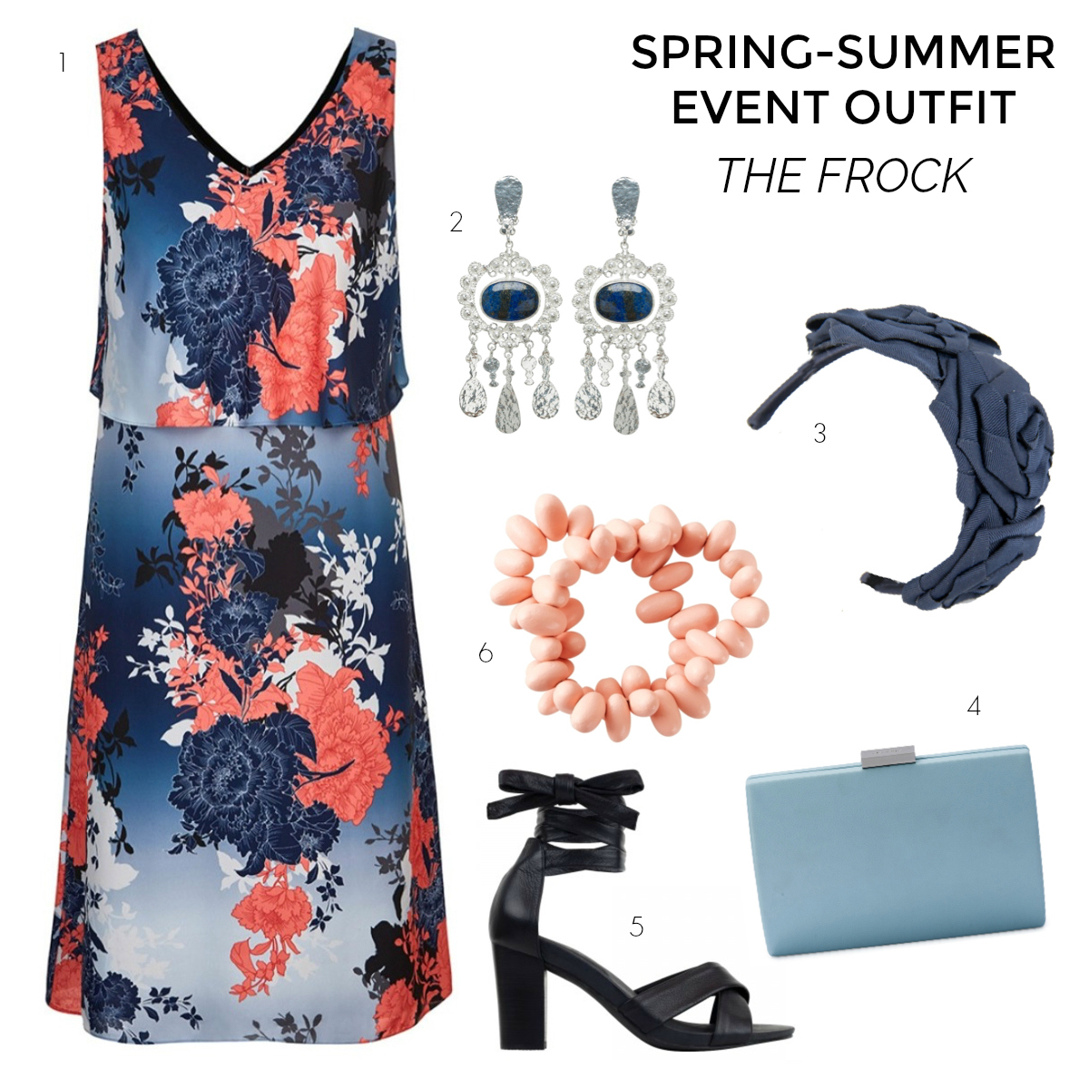 spring-summer occasion or event wardrobe - the frock Styling You