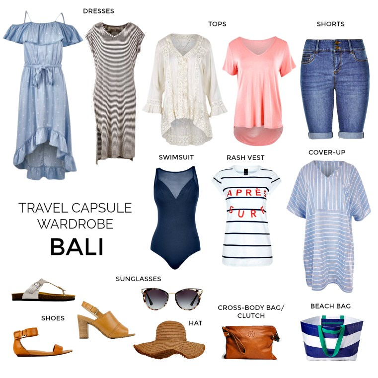 What to pack for a holiday in Bali | Styling You