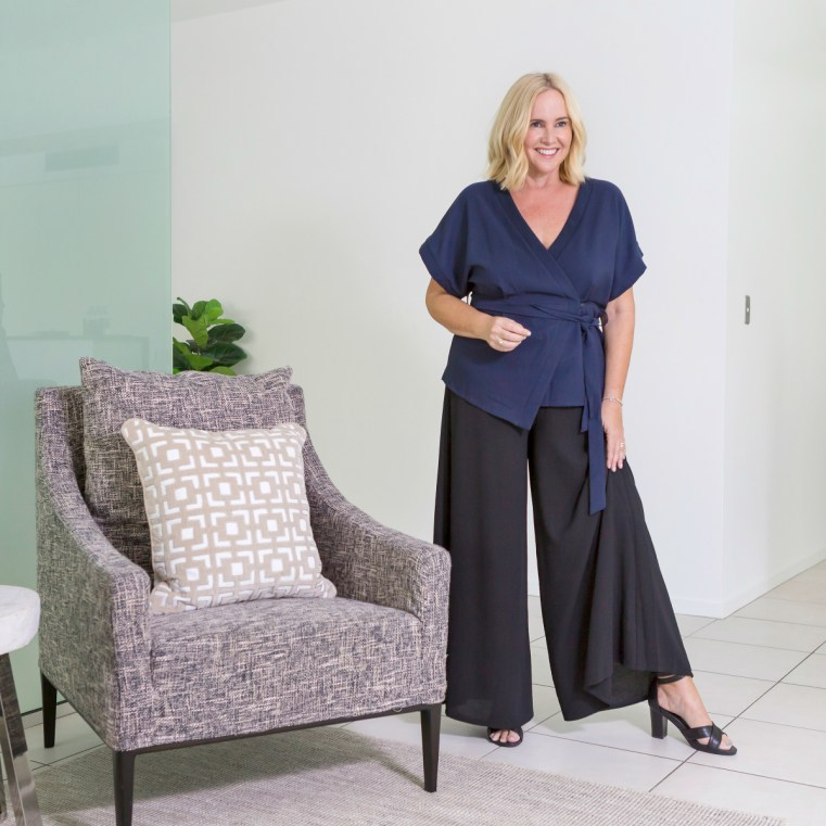 Bird by Design top and pant | Nikki Parkinson of Styling You. Photo by Sarah Keayes/The Photo Pitch