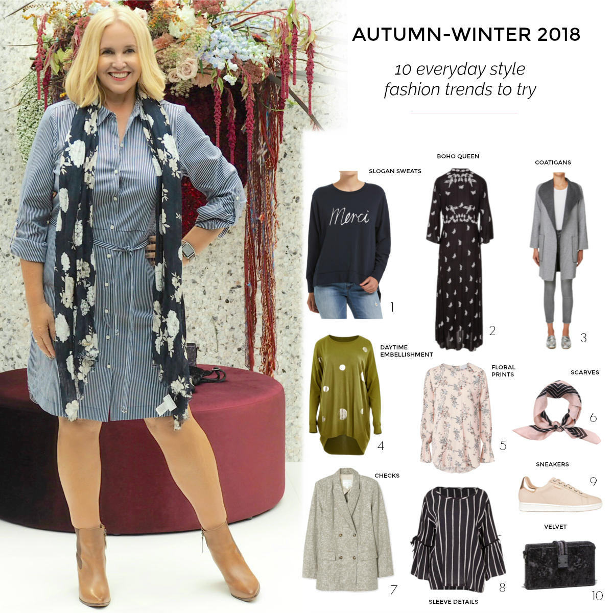 10 Everyday Style Fashion Trends For Autumn-winter 2018