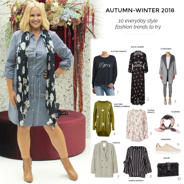 10 everyday style fashion trends to try for autumn-winter 2018 | Styling You