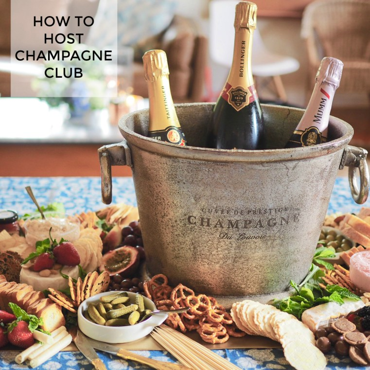 How to host Champagne Club