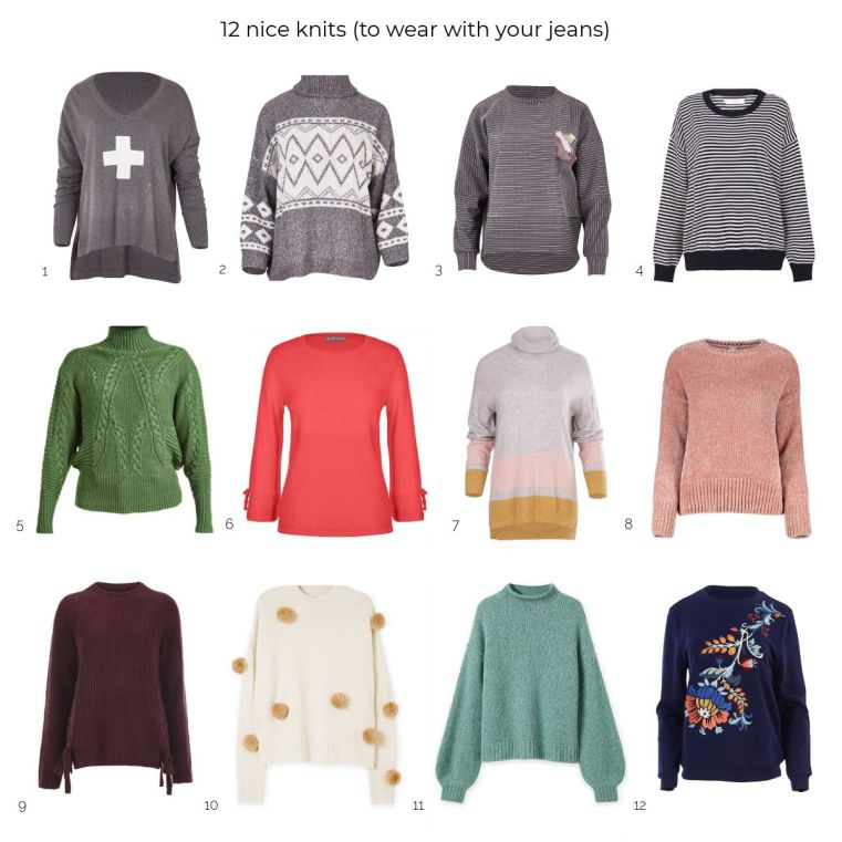 12 nice knits to keep you cosy in style this winter