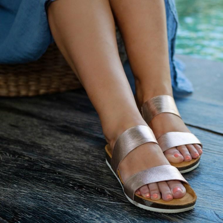 FRANKiE4 Footwear MARiA in rose gold