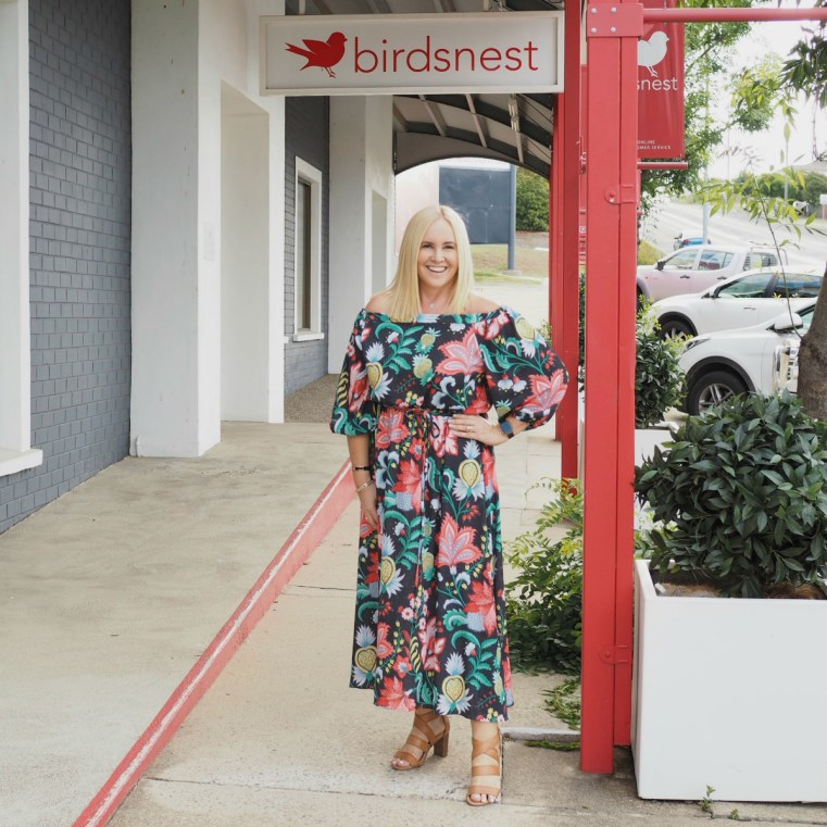 Boho bird dress | FRANKiE4 Footwear heels