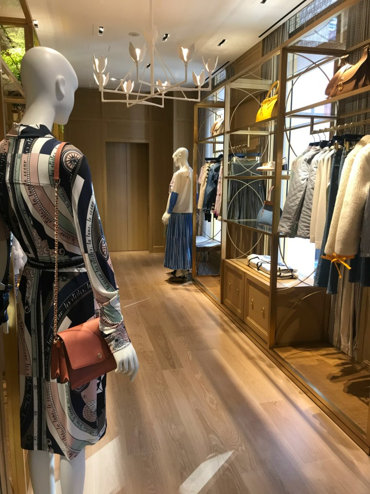 Tory Burch, Ginza, Tokyo, Japan | 48 hours in Tokyo