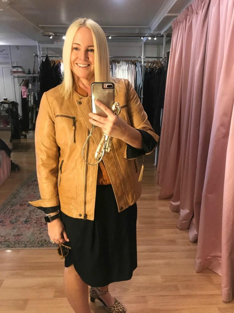 Binny leather jacket | Petrol Boutique