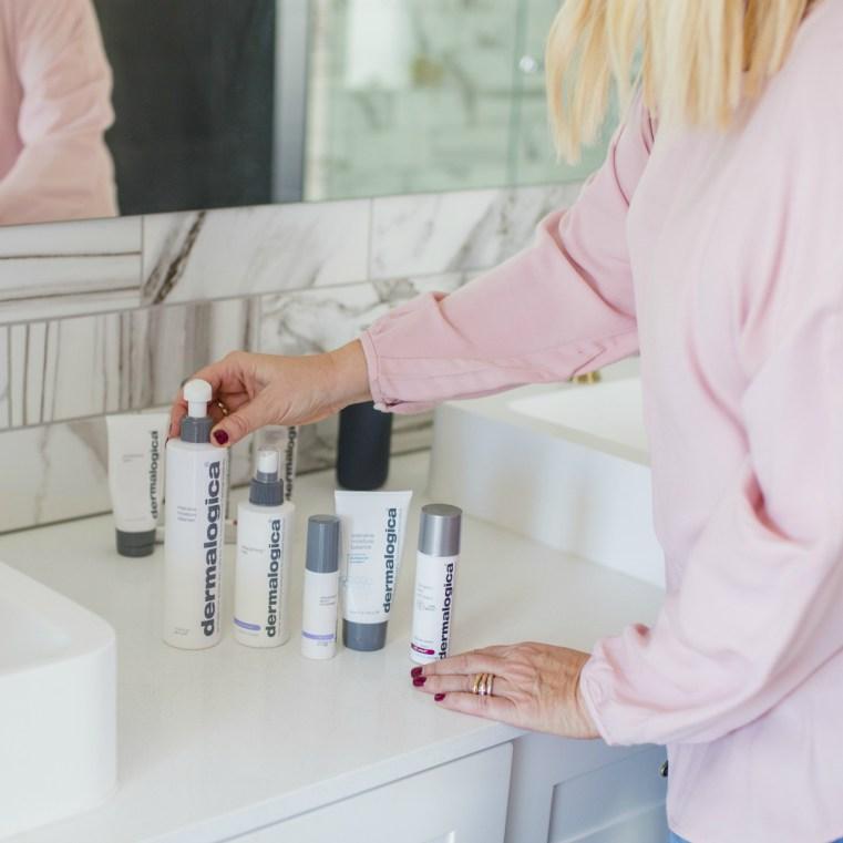 Menopause skincare routine | night time | dermalogica