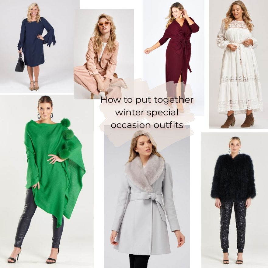 How to put together winter special occasion outfits