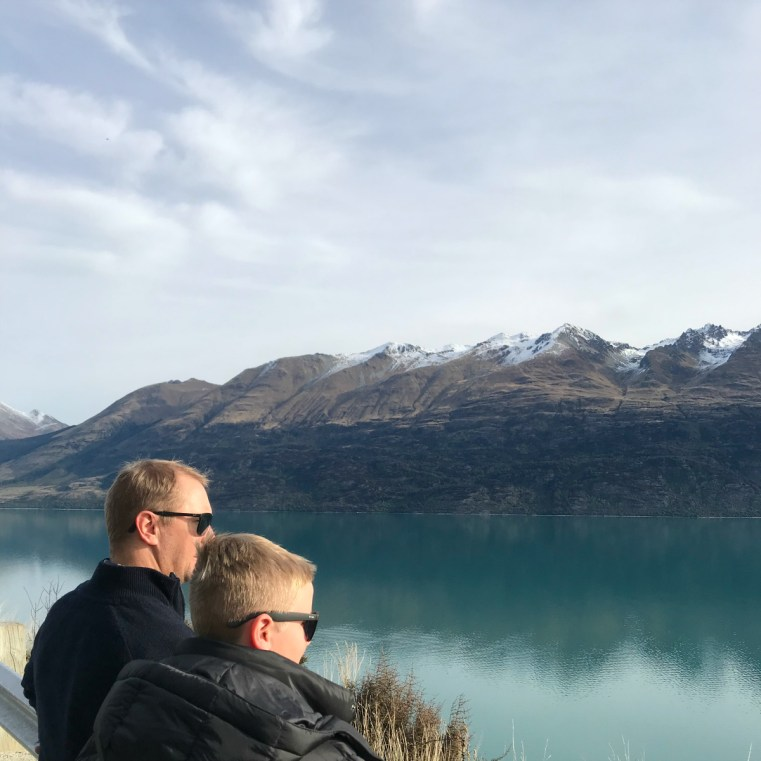 Bennetts Bluff Lookout, road to Glenorchy
