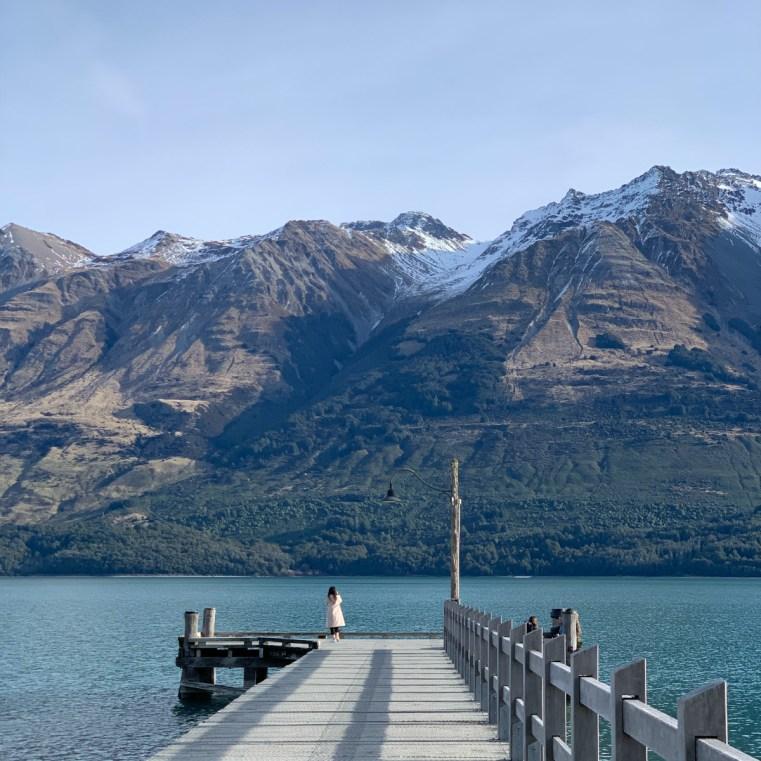 Glenorchy pier, New Zealand