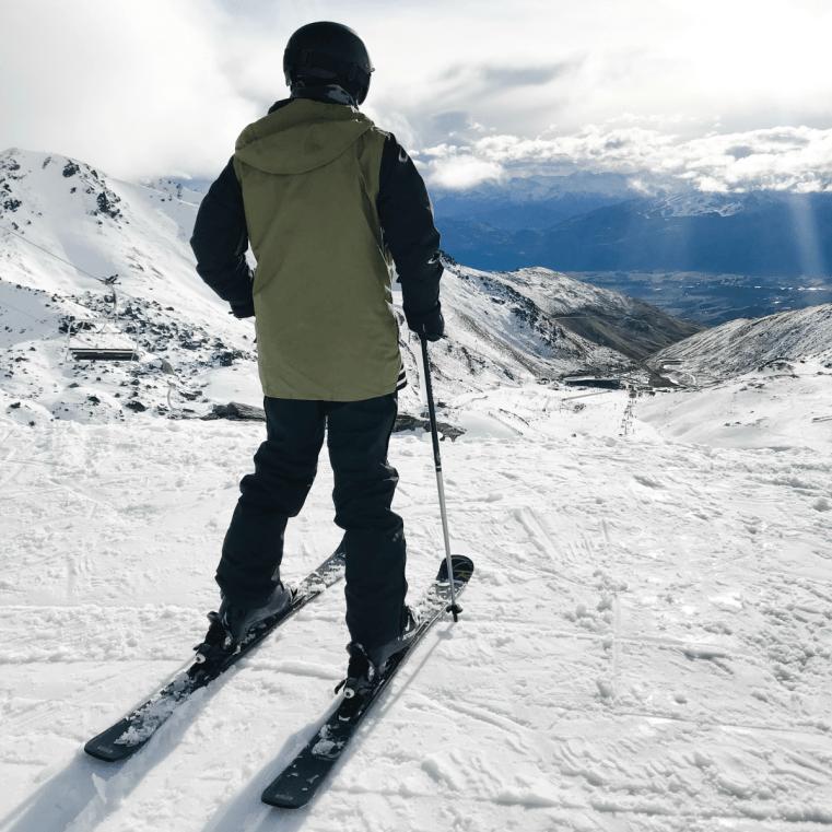 The Remarkables ski resort, Queenstown, New Zealand