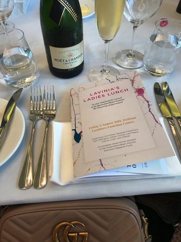 Lavinia's Ladies Lunch Queensland Brain Institute fundraiser