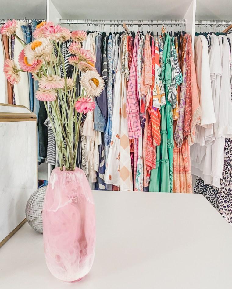 Want to take a peek inside my new wardrobe?