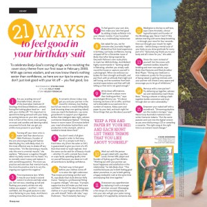Nikki Parkinson Styling You Body and Soul magazine