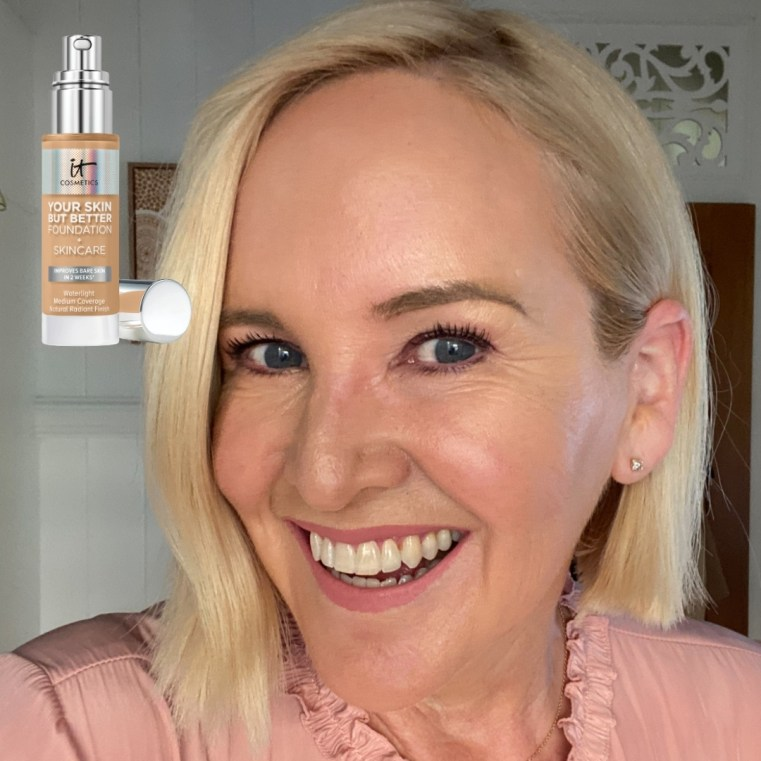 8 Foundations for peri and menopause skin - IT Cosmetics Your Skin But Better Foundation + Skincare