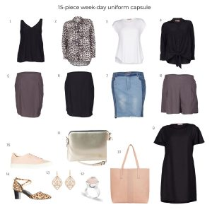 How to create a week-day uniform capsule to suit your lifestyle