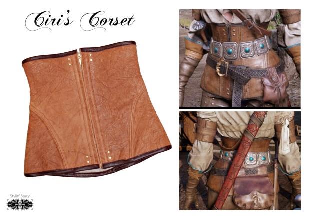 ciris corset collage