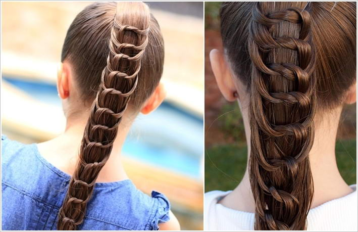 Try This Amazing Knotted Ponytail Hairstyle