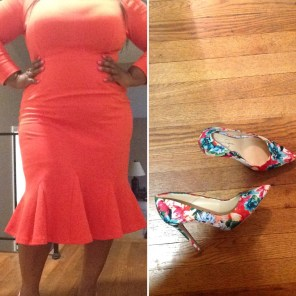 Marycrafts Dress and Jessica Simpson pumps