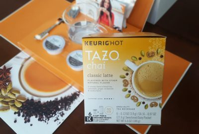 Introducing TAZO® Chai Latte K-Cup® Pods! #SweetMeetsSpicy #ad #IC #ChaiLatte #KCup