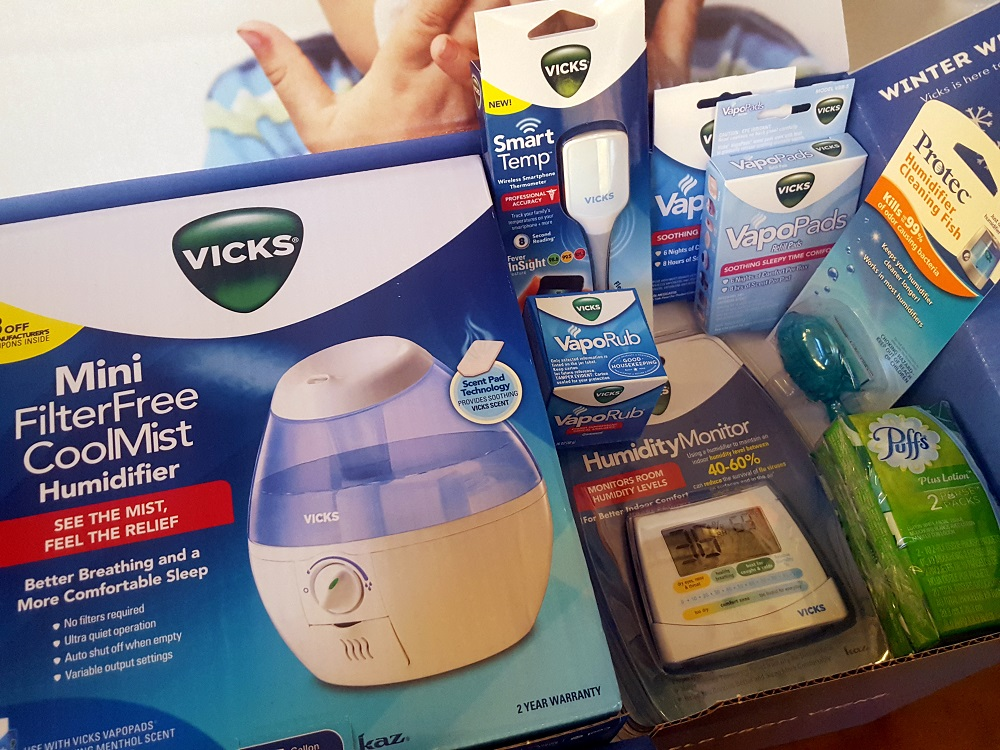 Stay Well This Winter With Vicks + Giveaway #VicksHumidifier #IC #ad