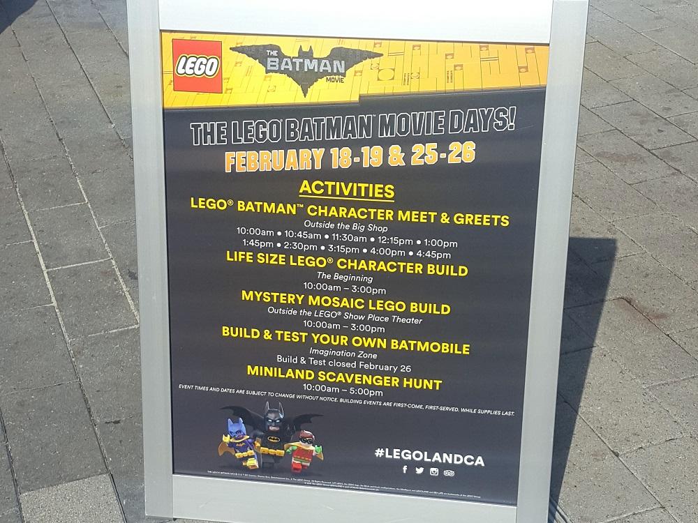 LEGOLAND California Resort Celebrates The LEGO Batman Movie Days #LegolandCA #LegolandBlogger #SanDiegol