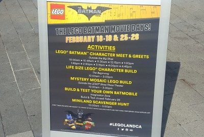 LEGOLAND California Resort Celebrates The LEGO Batman Movie Days #LegolandCA #LegolandBlogger #SanDiegol