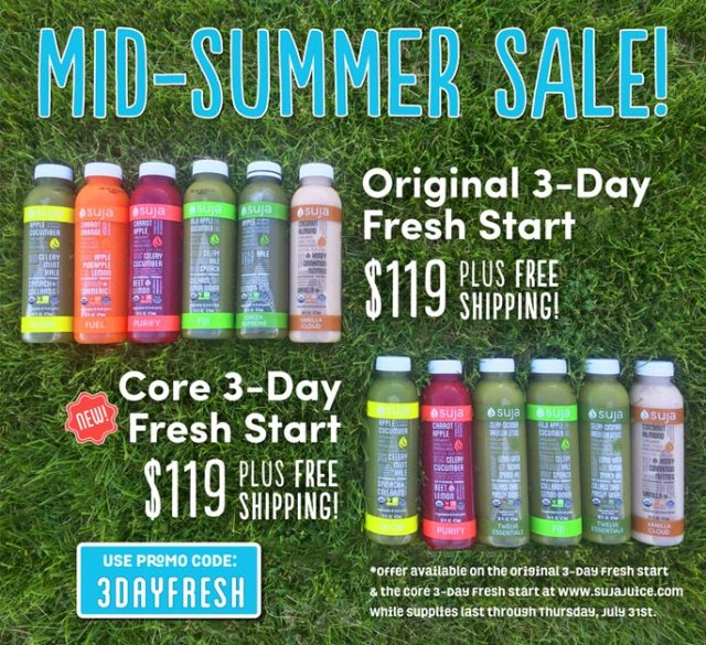 Suja Juice cleanse coupon code