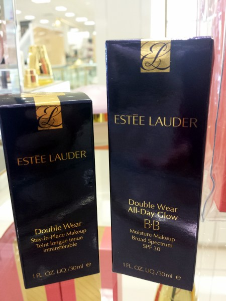 estee lauder double wear before and after