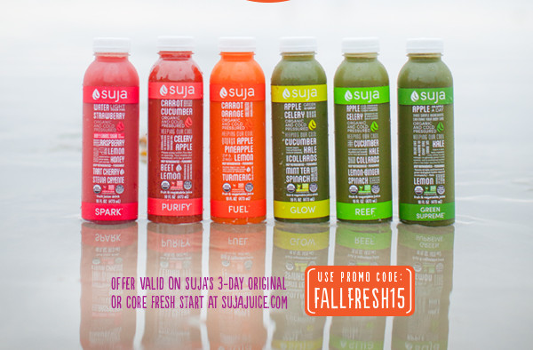 Suja Juice September Discount