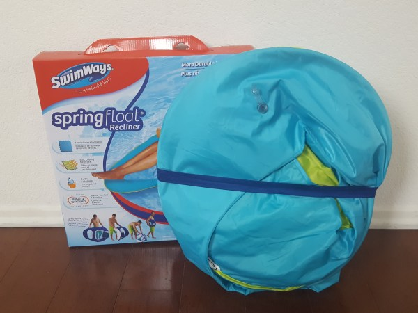 SwimWays Spring Float Recliner #SwimWays #IC #ad