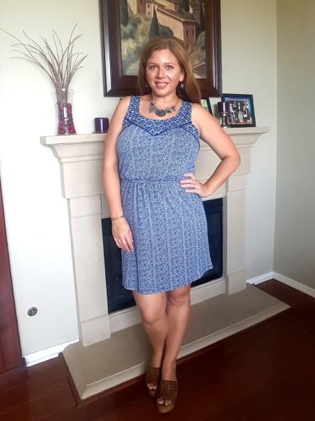 Stitch Fix Review June 2016 - Skies Are Blue Keagan Knit Dress #fashion #style #stitchfix