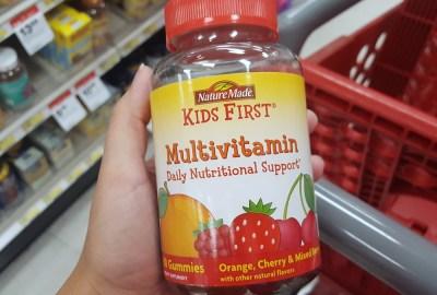 Nature Made® KIDS FIRST® Multivitamin Gummies #NatureMadeAtTarget #ad #IC