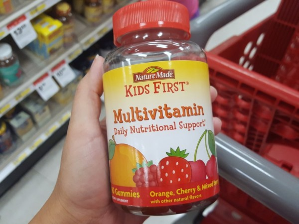 Nature Made® KIDS FIRST® Multivitamin Gummies #NatureMadeAtTarget #ad #IC
