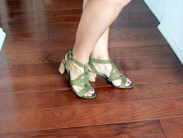 Franco Sarto Paloma Cork Heel - Stitch Fix Review April 2016 #fashion #style #stitchfix