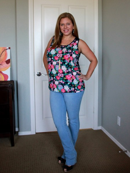 Stitch Fix Review May 2016 - BRIXON IVY Rolfe Knit Back Top and Liverpool Dorian 4-way Stretch Straight Leg Jean #fashion #style #stitchfix